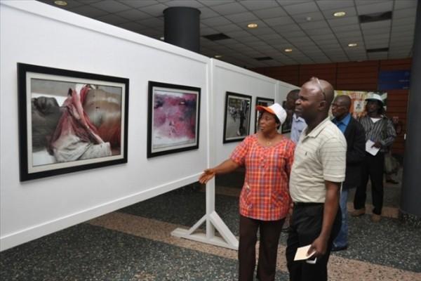 Exposition sur la crise postélectorale ivoirienne, c