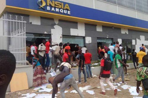 Article : Côte d'Ivoire : manifestation rime-t-elle avec pillage ?