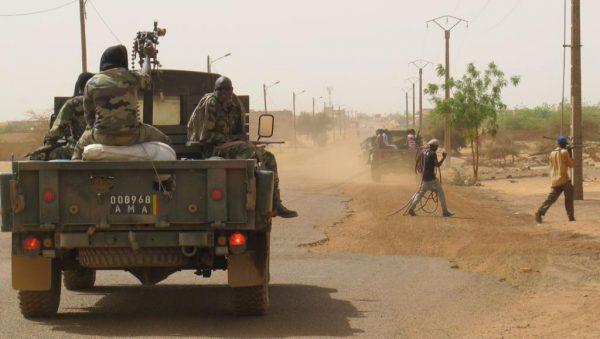 Armée malienne, à Gao.Image, Rfi.fr