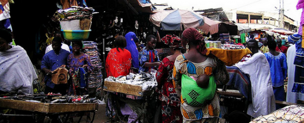 Marché de raïda à Bamako. Image Maliweb.